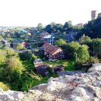 Navahradak, town view from the Castle Hill, Наваградак, від на горад з Замкавай гары, Новогрудок