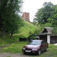 Вид на замок снизу, Новогрудок