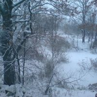 Зима в Островце, Островец