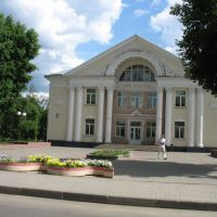 Ашмяны.Палац культуры.Ashmyany.City Culture Hall (typical for Soviet times), Ошмяны