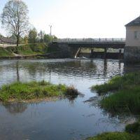 Река Ошмянка ниже плотины, Ошмяны