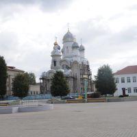 Main square in Svisloch, Свислочь