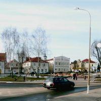 Slonim center panorama, Слоним
