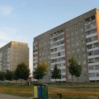 houses in Yubileynaya-street, Сморгонь