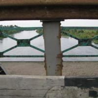 on the bridge, Березино