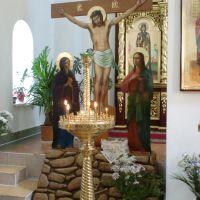 inside the church of berezino, Березино