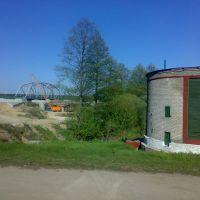 Строящийся мост, Березино