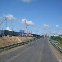 М-4. Строительство моста через Березину, Березино