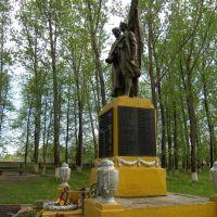 Памятник погибшим в ВОВ, Бобр