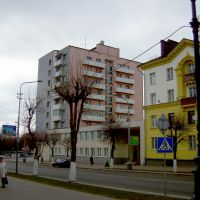 Улицы Борисова в апреле, Борисов