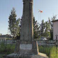 Wilejka - kwatera wojenna żołnierzy polskich poległych w l. 1919-1920, Вилейка
