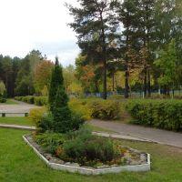Дворик гимназии №2, Вилейка