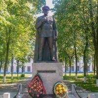 Помнік Азі Асланаву (Monument Hazi Aslanov), Вилейка