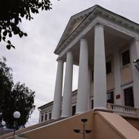 Палац Тышкевічаў, Воложин