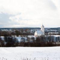 Вид на спассо-преображенскую церковь, Заславль