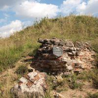 Остатки больших замковых ворот / Rest of a large castle gate, Заславль