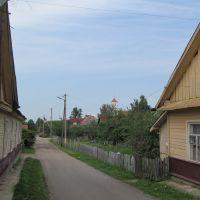 small street, Заславль