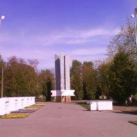 Памятник освободителям города, Клецк