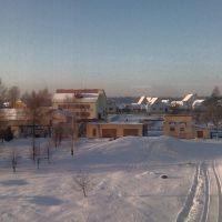 Зимний день в Крупках, Крупки