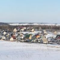 Панорама г. Логойска, Логойск