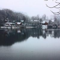 Первый снег в Логойске, Логойск