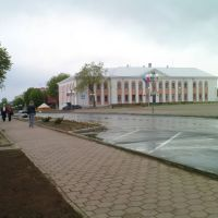 general square of Marjina Horka, Марьина Горка