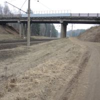 Мост между станциями Степянка и Озерище, Пинск