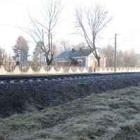 Домик железнодорожника, Пинск