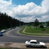 Waupshasova str., Minsk, Belarus, 15.06.2014., Пинск