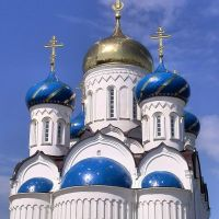 Church in Molodechno, Belarus. Церковь в Молодечно, Беларусь., Молодечно