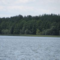Batoryna lake banks, Мядель