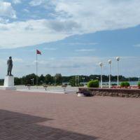 Place Lénine, Мядель