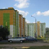 Новые дома на Зелёной, Слуцк