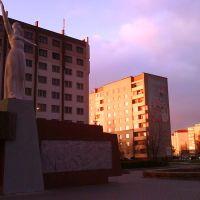 """рядом с памятником """"Родина-мать"""", Слуцк"""