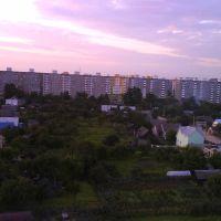 вид на район Чехова, Слуцк