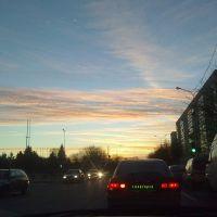 городские сумерки_ул.Козлова Солигорск, Солигорск