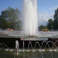фонтаны- застывшая вода, Солигорск