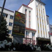 стройтрест № 3_фасад офиса, Солигорск