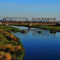 Ж/д мост через Неман, Столбцы