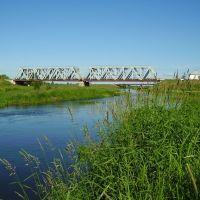 ЖД мост в Столбцах, Столбцы