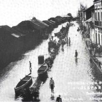 Inundación calle Juan Soto, Альварадо
