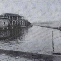 Construcción del malecón en 1948, Альварадо