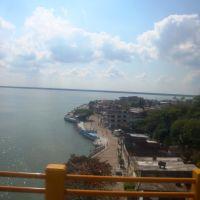 Vista del puerto desde el Puente de Alvarado, Альварадо