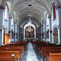 Al interior de la iglesia de San Jerónimo, Коатепек
