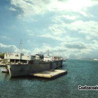 Barco Naval en Coatzacoalcos Veracruz México - Navy Ship at Coatzacoalcos Veracruz Mexico, Коатцакоалькос