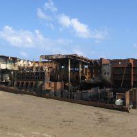 Desmantelación del Barco Orfeo, Коатцакоалькос