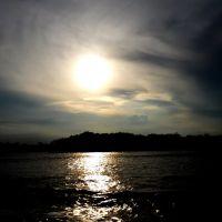"""Dark Sunset"" in the city of Coatzacoalcos Mexico, Коатцакоалькос"