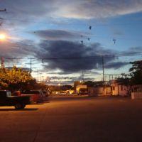 Colonia Nora Quintana vista de noche, Косамалоапан (де Карпио)
