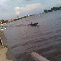 Rio Coatzacoalcos,desde el malecon de Minatitlan, Минатитлан