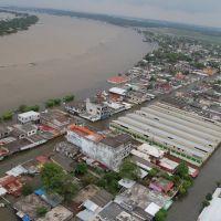 Minatitlan Ver airview. Flood 2008, Минатитлан